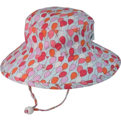 Puffin Gear Cotton Sunbaby Sun Hat - Balloons