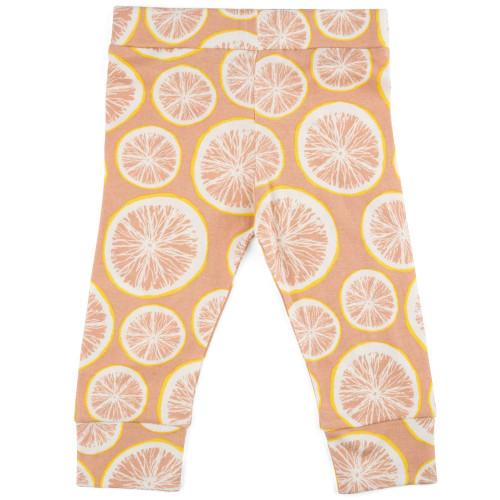 Milkbarn Organic Cotton Legging - Grapefruit