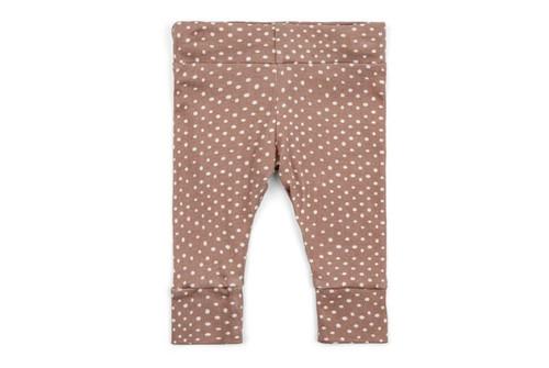 Milkbarn Organic Cotton Legging - Rose Dot