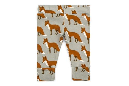 Milkbarn Organic Cotton Legging - Orange Fox