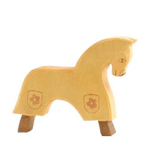 Ostheimer Yellow Wooden Horse for Knight