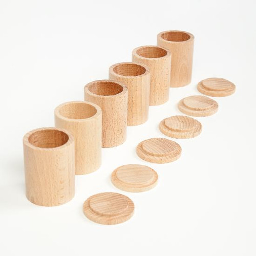 Grapat Natural Cups with Lids