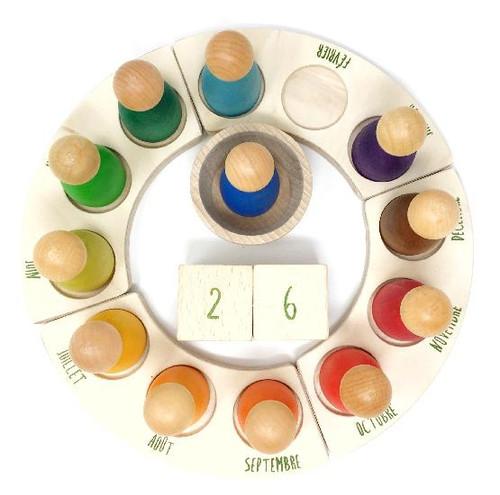 Grapat Perpetual Calendar (French)