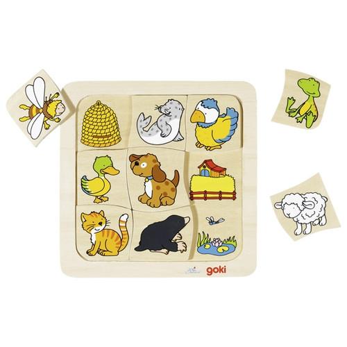 Goki Puzzle - Who Lives Where?