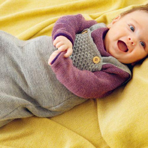 Disana Organic Wool Sleeping Bag - Knitted