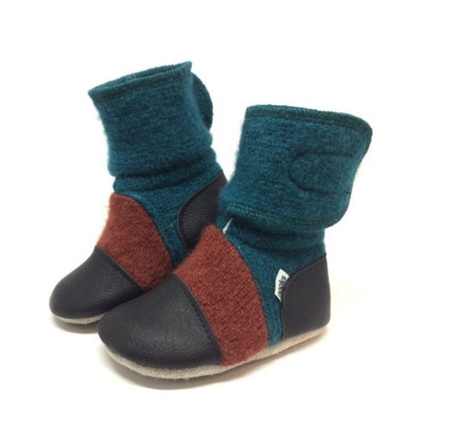 Nooks Wool Booties - Mistral