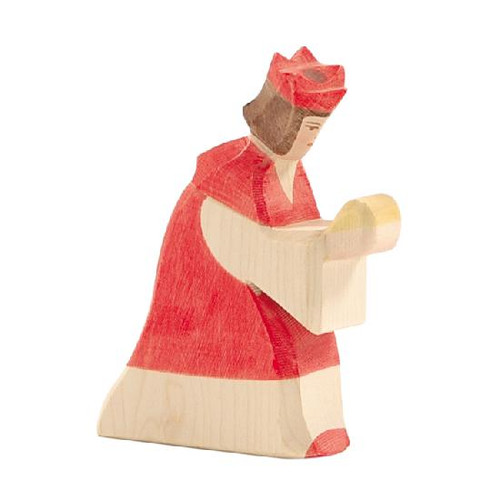 Ostheimer Nativity Figure - King Red