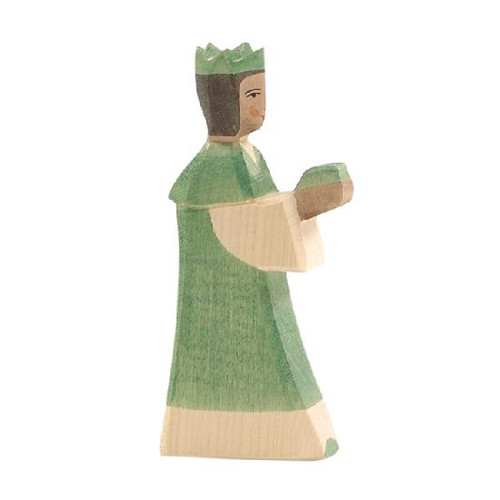 Ostheimer Nativity Figure - King Green