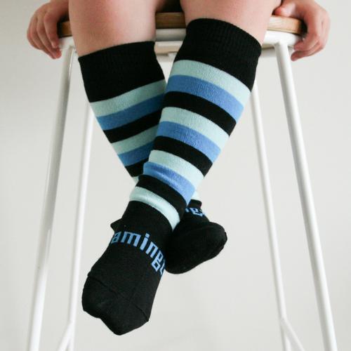 Lamington Knee-High Wool Socks Jetty