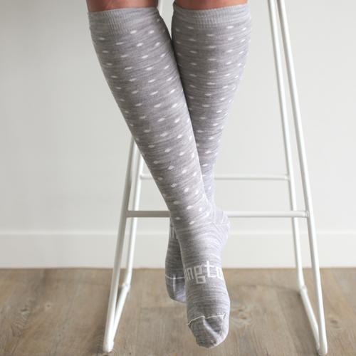 Lamington Merino Wool Socks Woman - Snowflake