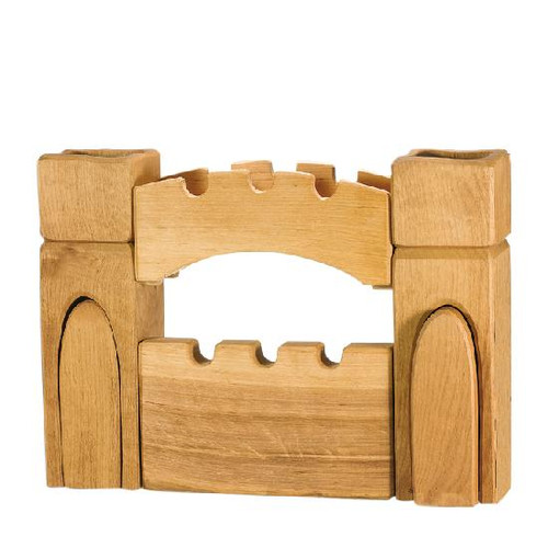 Ostheimer Gateway Set with 2 Towers , a Wharf and Wall
