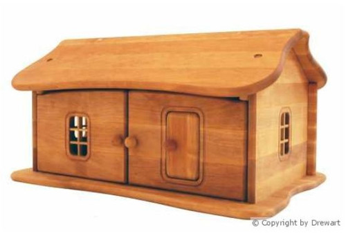 Small Wooden Dollhouse