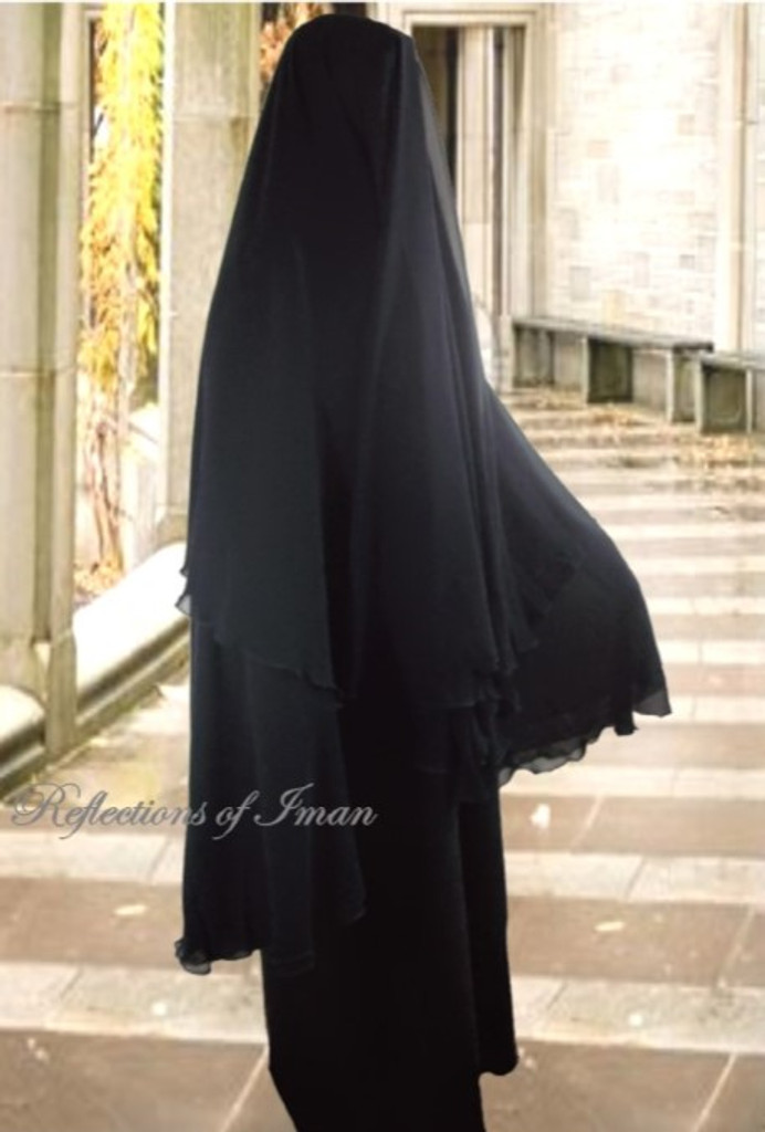 4 Layer Yemeni Khimar