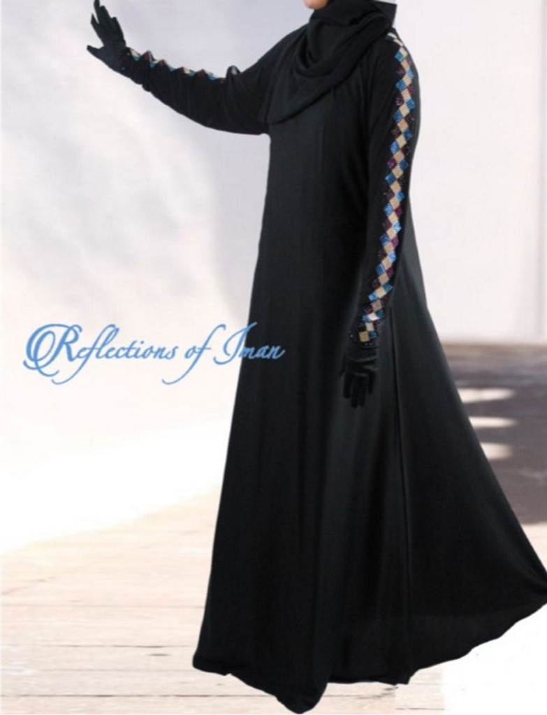 Azraq Diamond Saudi Umbrella Abaya