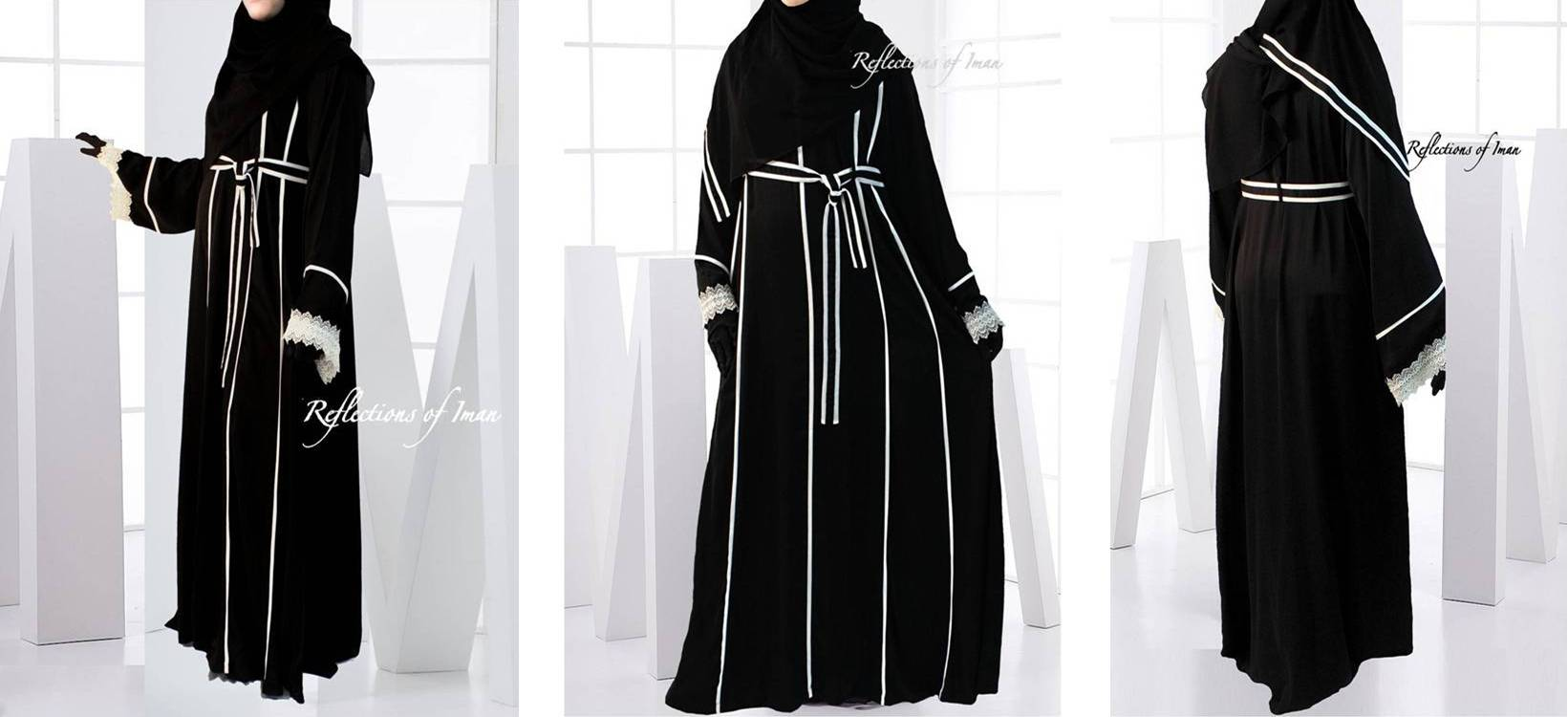 Abayas at Reflections of Iman Popup Shop