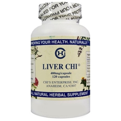 Liver Chi (120 capsules/bottle) - 400mg/cap by Chi Health