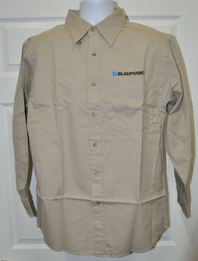 Blaupunkt Dress Shirt-Tan