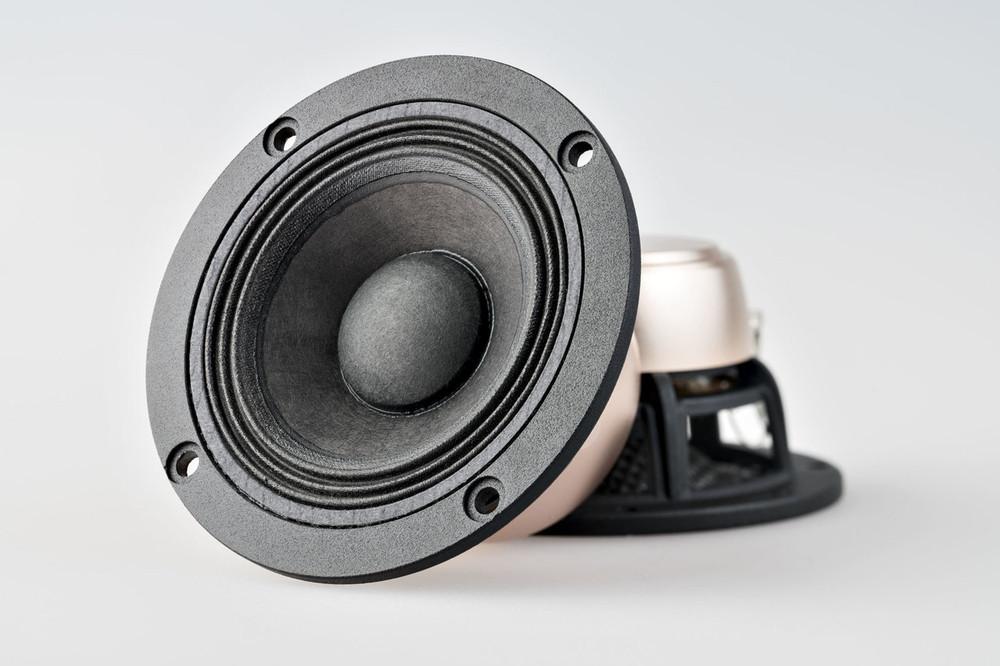 """X3 3.7"""" Speaker Set with Dust Cap"""