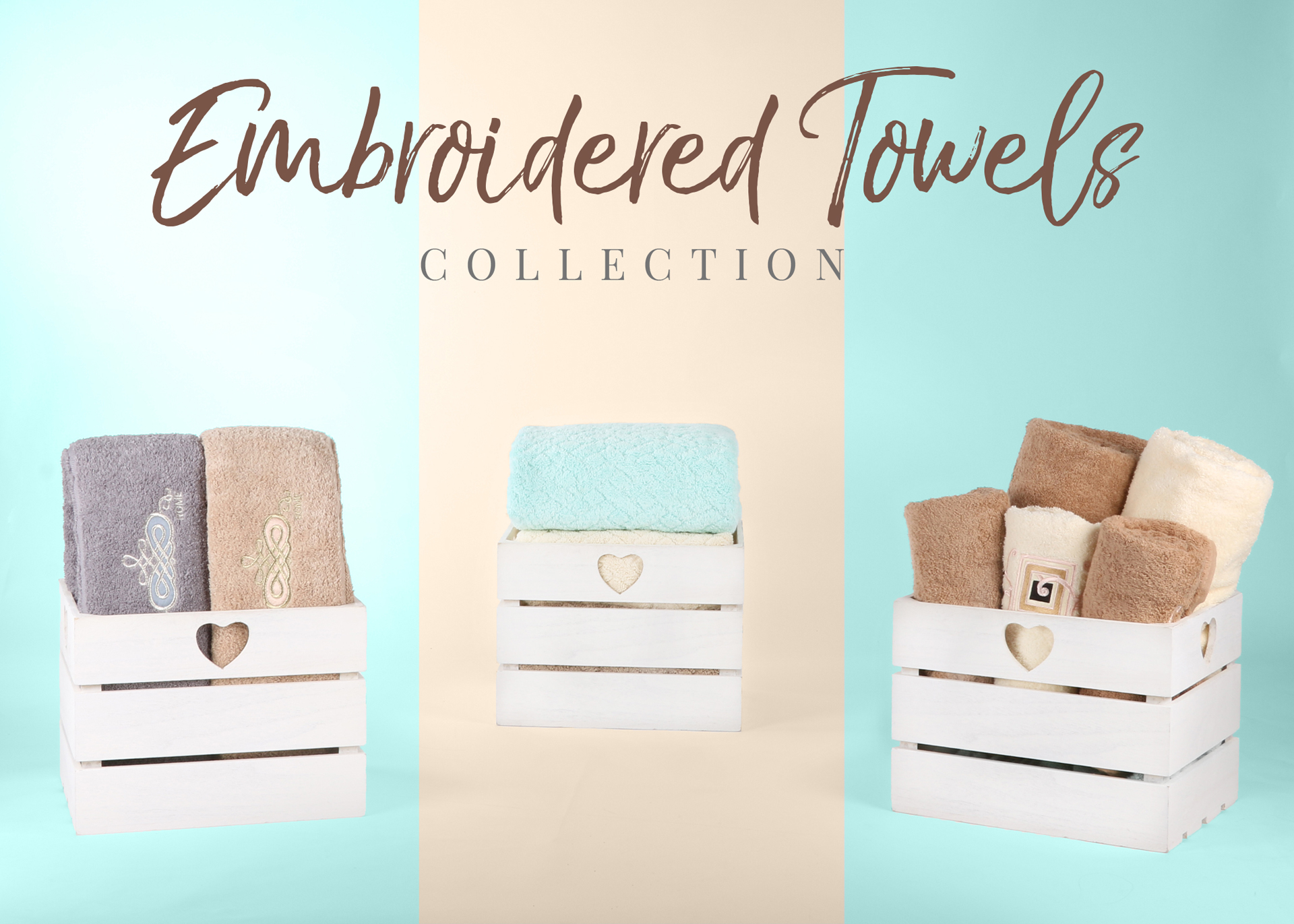 Embroidered Towels Collection