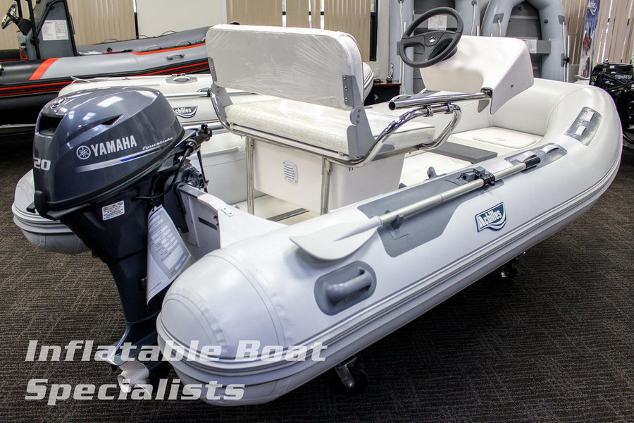 Achilles Eurohelm Console on 350DX with Outboard Engine