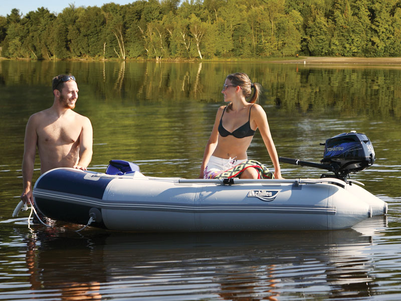 Achilles Inflatable Dinghy