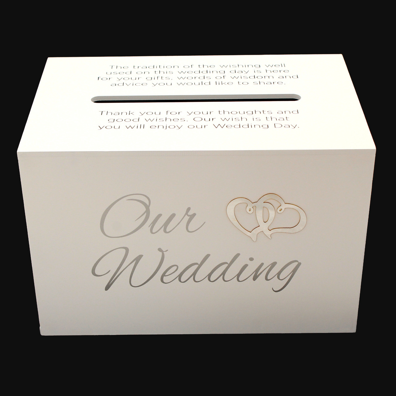 Average Cost Of Wedding Gift: Our Wedding Wishing Well Card Holder