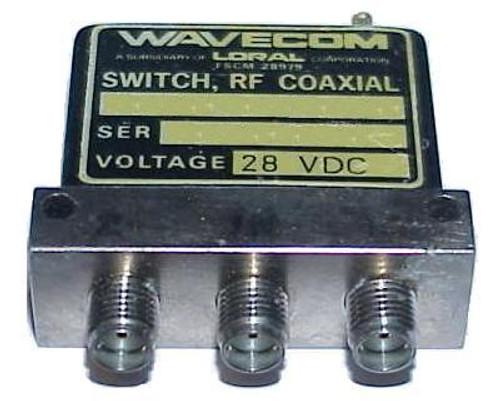 Wavecom 020-A0-A1D-4C0 - SPDT Coaxial Switch