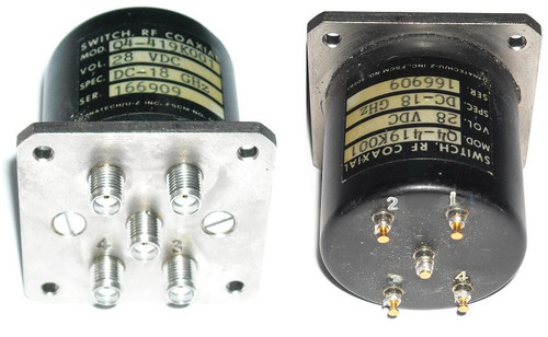 Dynatech Q4-419K001 - SP4T Coaxial Switch Relay