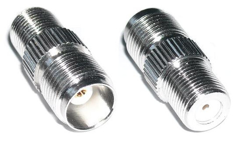 TNC Female to F Female Coaxial Adapter Connector