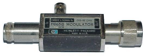 HP-Agilent 11665B Modulator for use with HP 8755 8756 8757