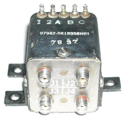 Teledyne CS-37S1C-4 - DPDT Coaxial Transfer Switch