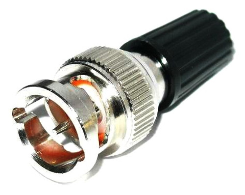 BNC-Male to Binding-Post Coaxial Adapter - Black