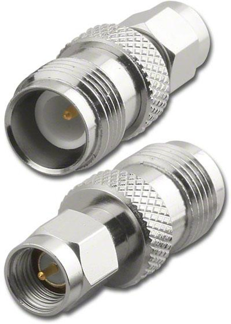 RP-TNC-Female to SMA-Male Coaxial Adapter