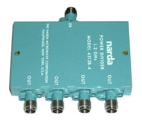Narda Microwave Model 4312B-4 Wilkinson Power Divider