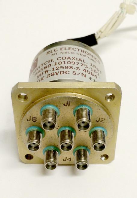 RLC Electronics 10109775-101 - RF Coaxial Switch SP6T DC-18 GHz