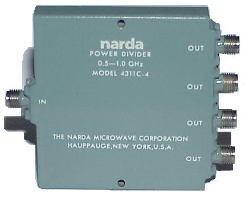 Narda Microwave 4311C-4 Wilkinson 4-Way Power Divider