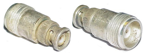 Mil-Spec HN-Female to BNC-Male Coaxial Adapter Connector