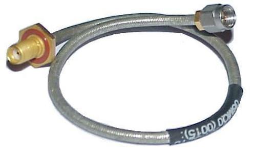 """9"""" Long - Tensolite SMA-Female to SMA-Male Semi-Flex Coax Cable RG-402"""