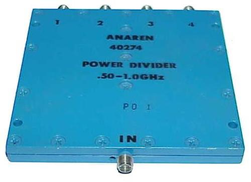 Anaren 4-Way Power Divider Splitter .5 to 1 GHz
