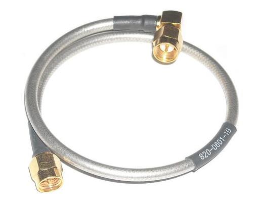 "10"" Long - SMA Male / Male RG-402 Semiflex Coaxial Cable"
