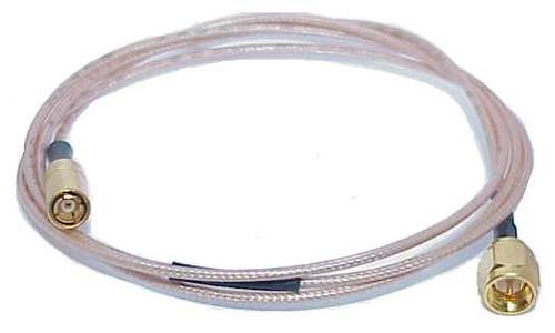 """36"""" Long - SMA-Male to SMB-Plug Coaxial Cable (RG-178)"""