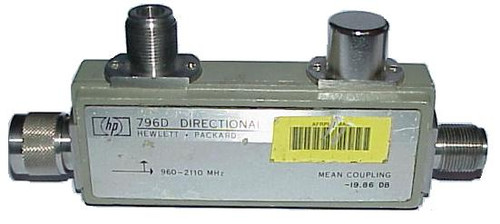 HP Agilent 796D - 20dB Directional Coupler 940-2100 MHz