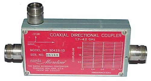 Narda Microwave 3043B-10 Directional Coupler