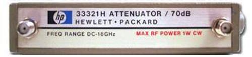 HP-Agilent 33321H 0 to 70 dB Step Attenuator