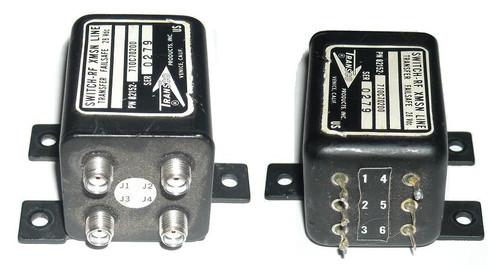 Transco Coaxial Transfer Switch DC-18 GHz SMA 28VDC TPS-3867