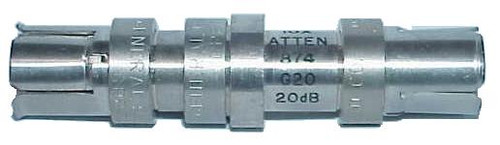 General Radio GR-874-G20 - 20 dB (10X) Fixed Coaxial Attenuator