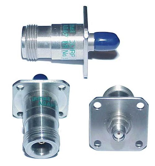 Inmet SMA-Female to Precision N Coaxial Adapter