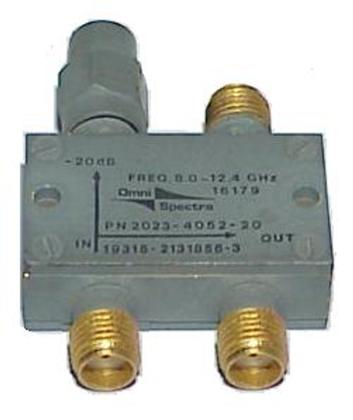 Omni-Spectra 20 dB Directional Coupler