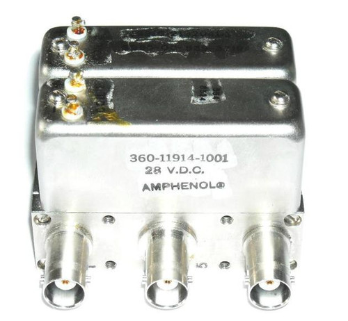 Amphenol DP2T Coaxial Switch Relay