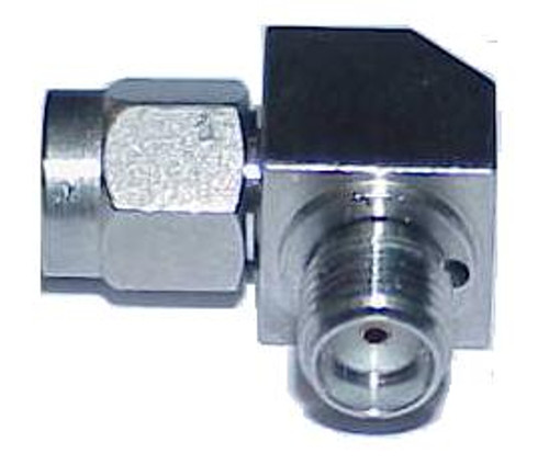 SMA Male / Female Swept Coaxial Adapter Connector